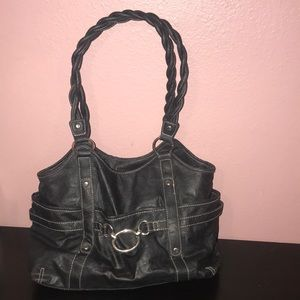 Rosetti shoulder bag black silver